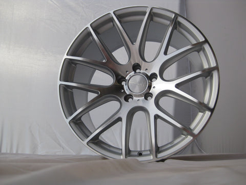 3SDM 0.01 Silver/Polished Finish 18x8.5 (5x120 ET +35)