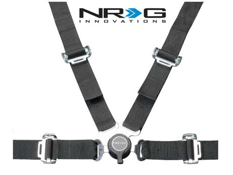 4 Point Safety Harness - Black
