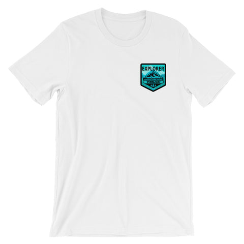 Explorer Badge Short-Sleeve Unisex T-Shirt