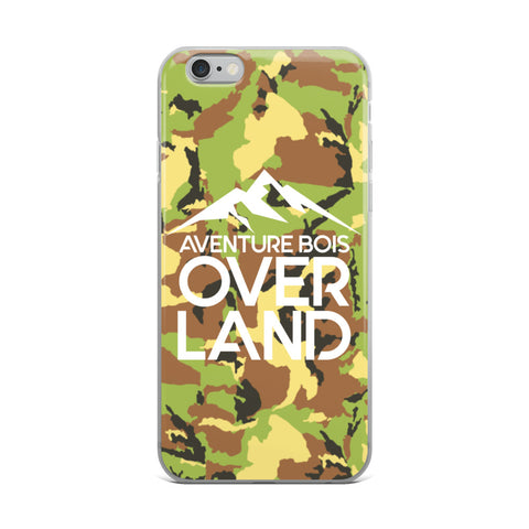 Aventure Bois Overland iPhone Case