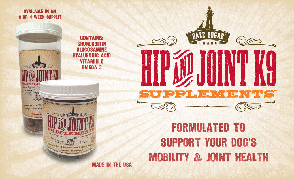 Hip & Joint K9 Wafers-online   Dale Edgar Brand