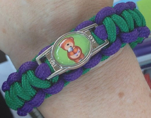 SALE-Cranio Care Bear Logo Paracord Bracelet