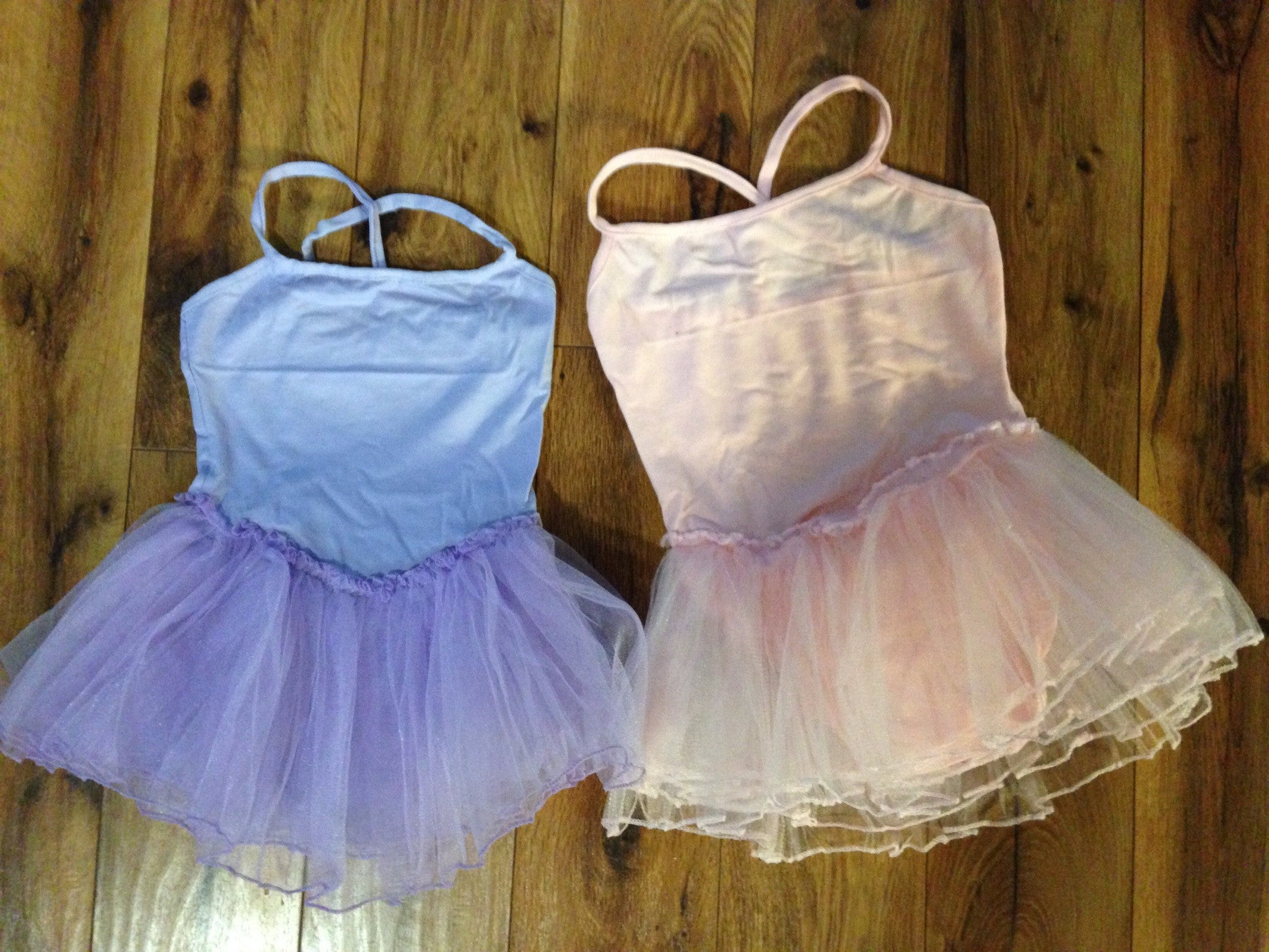 Leotard Tutus in Pink or Lavender Customizable