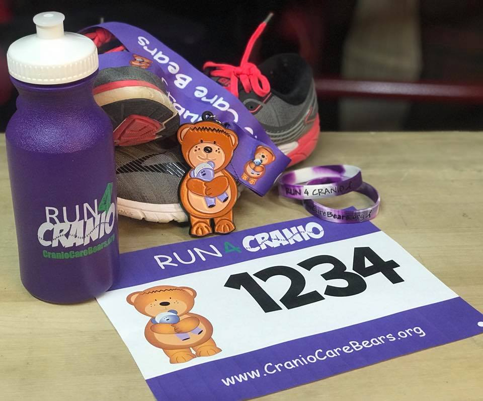 Run4Cranio Group Rate-MINIMUM of 10 PEOPLE Full Kit