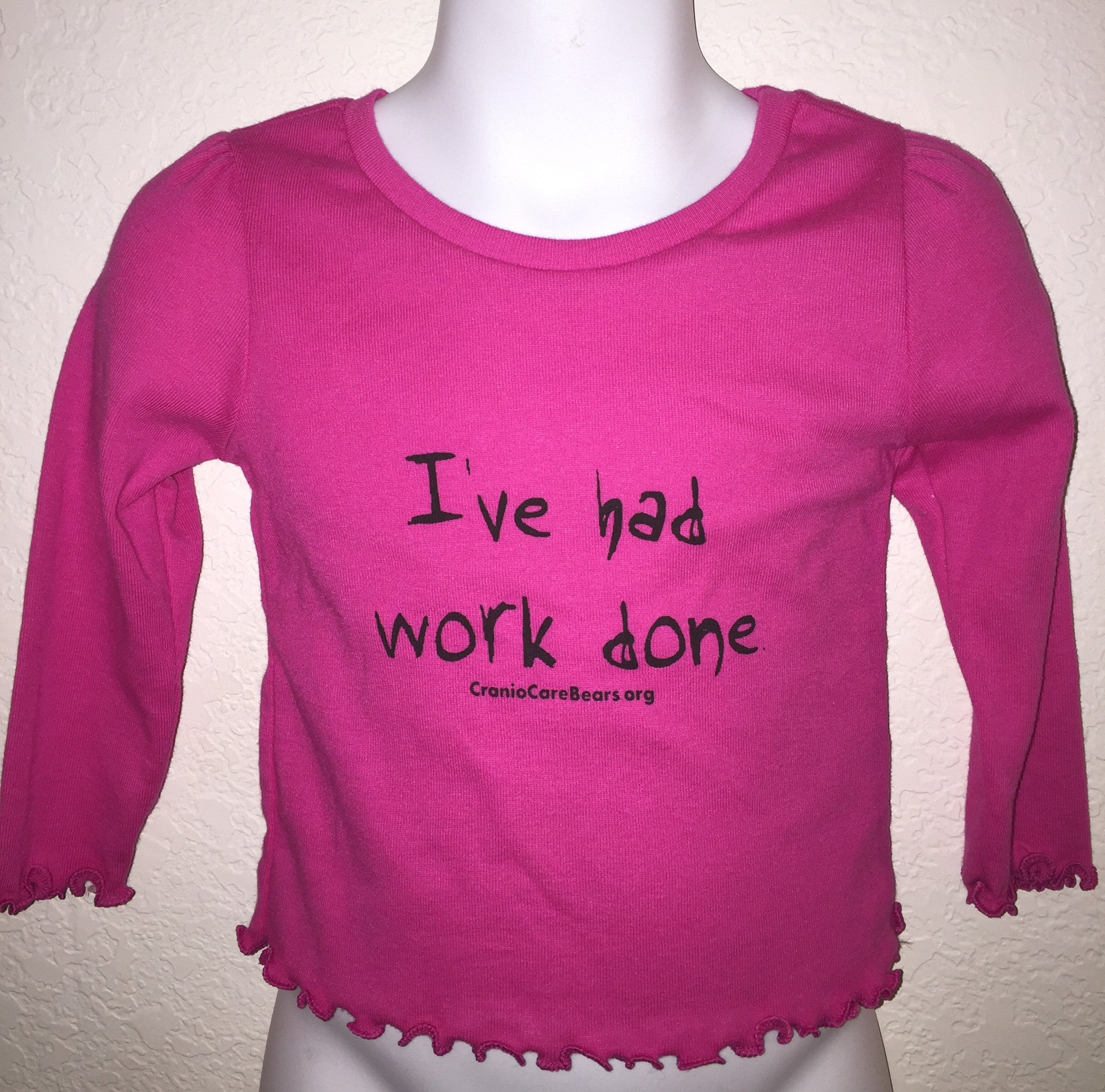 I've Had Work Done-Long Sleeve Girls