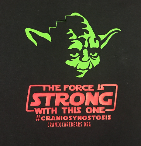 The Force is Strong with this one Yoda Onsies