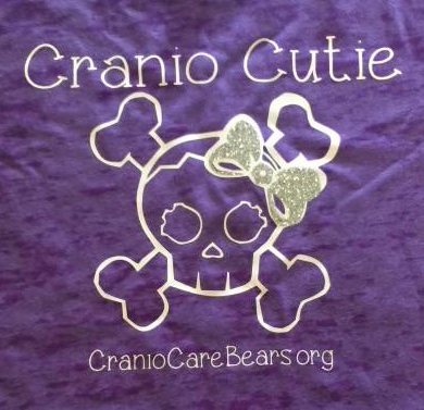 Cranio Cutie Girly Skull with Bow Onsies