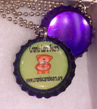 SALE**Cranio Care Bears Bottlecap Necklace