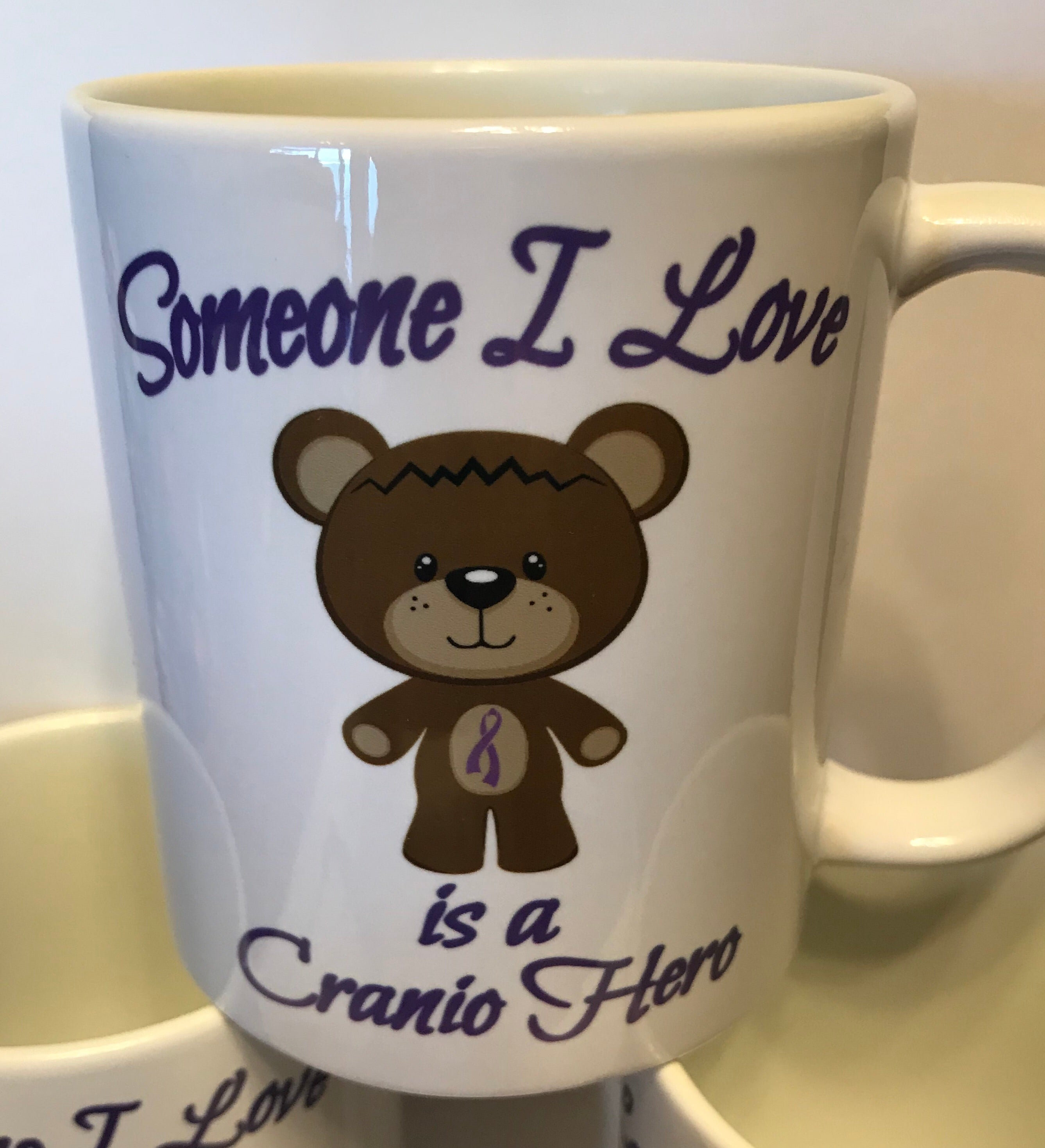 Someone I Love is a Cranio Hero Mug