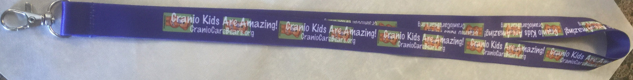 Cranio Kids Are Amazing Lanyard
