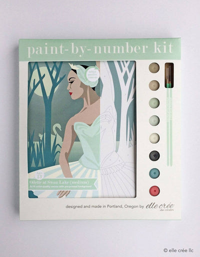 Odette at Swan Lake Paint-by-Number Kit