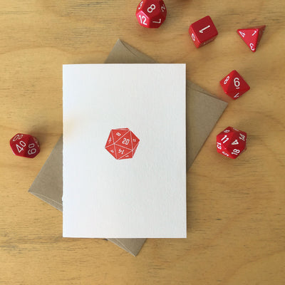 Gamer Letterpress Cards