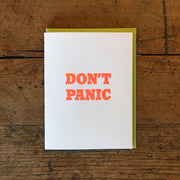 Encouraging Letterpress Cards by Green Bird Press
