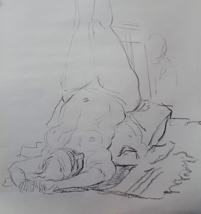 Figure Drawing Salon. Tuesdays from 7-9pm Cancelled until further notice!