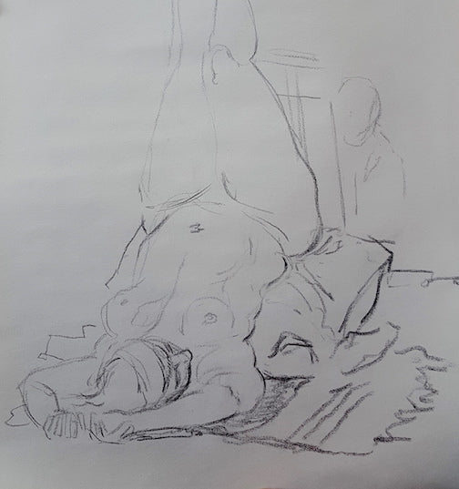 Figure Drawing Salon. Tuesdays from 7-9pm