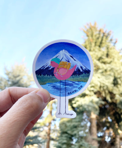 Mountain Bird Stickers