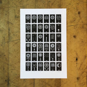 A Few... Letterpress Prints by Green Bird Press