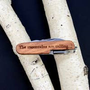 "Pocket Knife: ""The Mountaineer"""