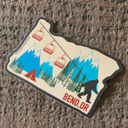 Bend Oregon Sticker Pack