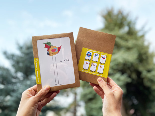Outdoorsy Bird Notecards- Pack