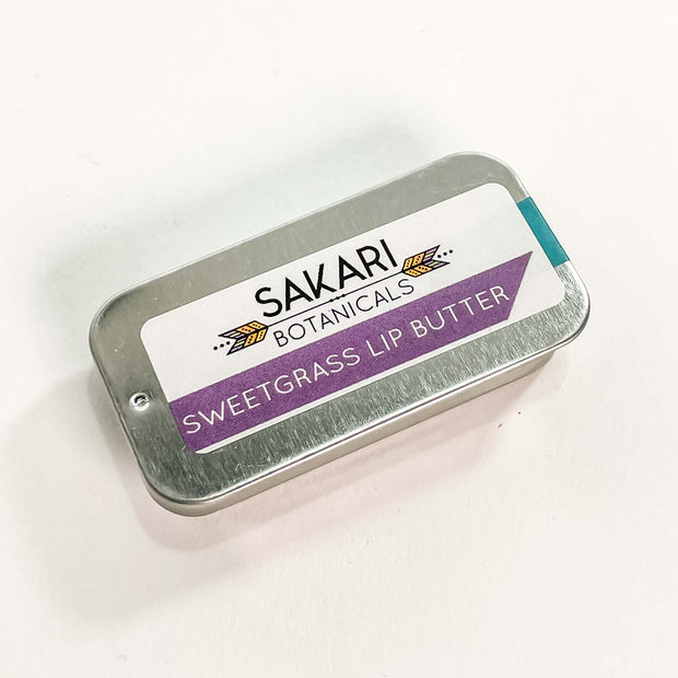 Sakari Botanicals Sweetgrass Lip Butter