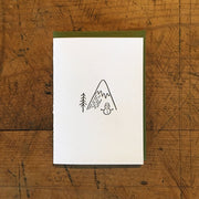 Snowman Holiday Letterpress Cards