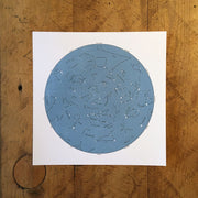 Star Map Letterpress Prints