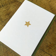 Gold Star Letterpress Holiday Cards