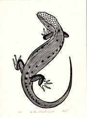 Abney Wallace Woodblock Snake & Reptile Prints