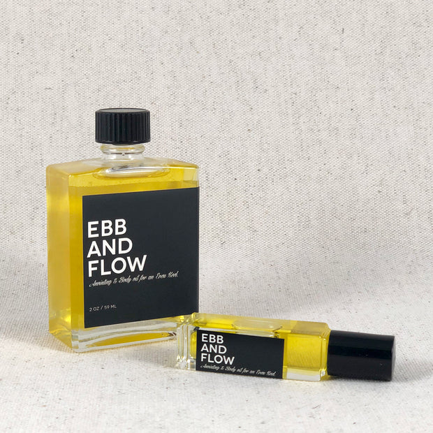 Ebb And Flow. Anointing & Body Oil for an Even Keel from Amulette Studios. Bend Oregon Gifts