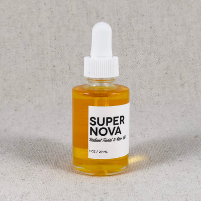 SuperNova. Radiant Facial and Hair Oil. Amulette Studios. Gifts in Bend, Oregon