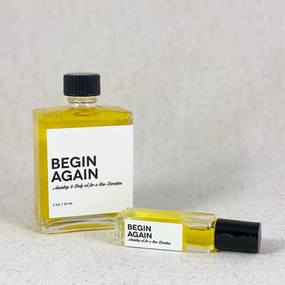 Begin Again. Annointing & Body oil for new directions from Amulette Studios