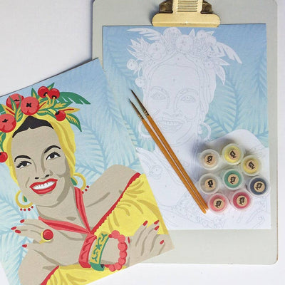 Carmen with Fruit Paint-by-Number Kit
