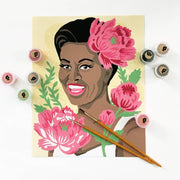 Michelle with Peonies Paint-by-Number Kit