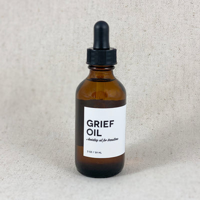 Grief Oil, Anointing Oil for Transitions, from Amulette Studios in Bend, Oregon