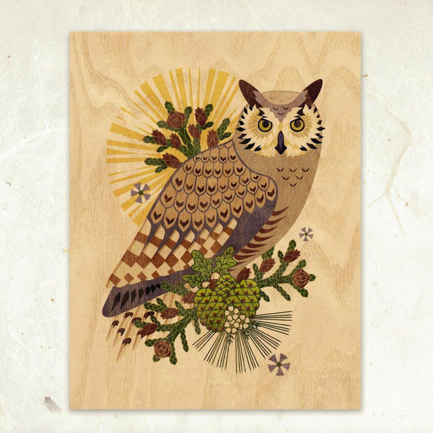 Wooden Art Prints from Little Gold Fox