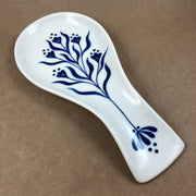 Maren+Laura Hand-painted Porcelain  Spoon Rest
