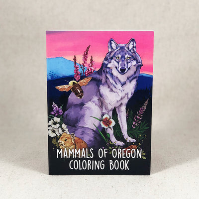 Coloring Book: 53 Mammals of Oregon