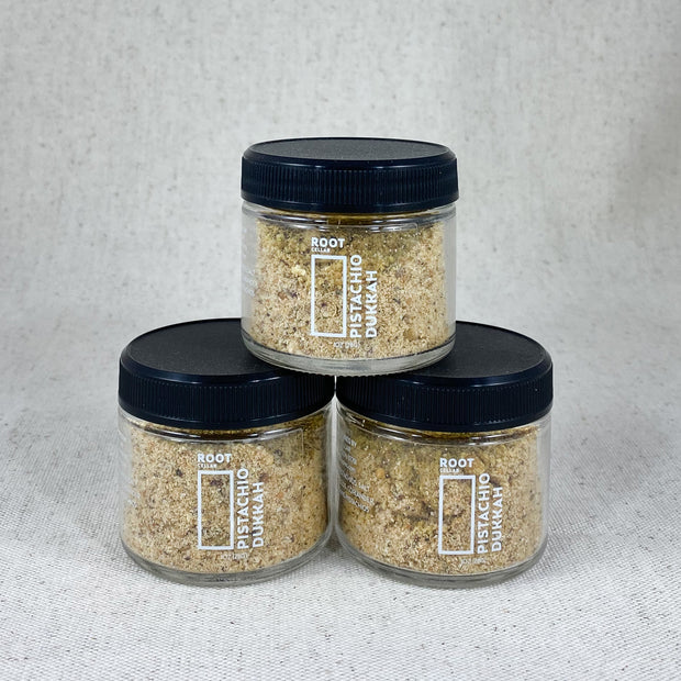 Root Cellar Pistachio Dukkah, Made in Bend Oregon