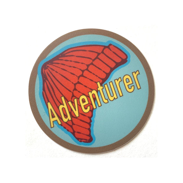 Adventure Sticker Sweet Pea Cole Made in Bend Oregon