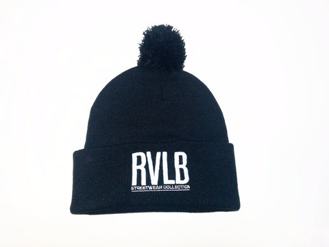 "Rival ""RVLB"" Tuque with Cuff & Pom Pom / TUK4"