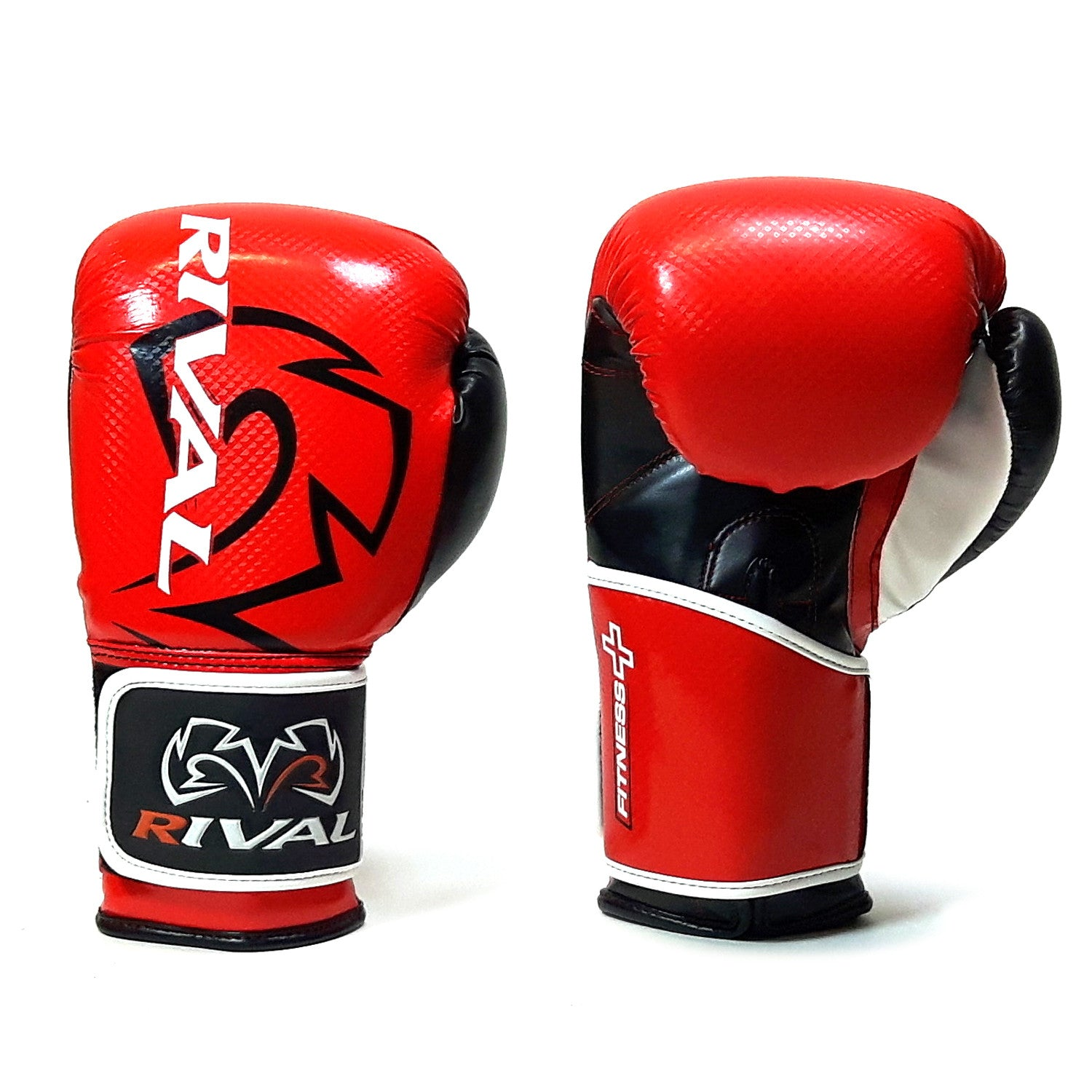 New Rival Boxing Bag Gloves Red Small