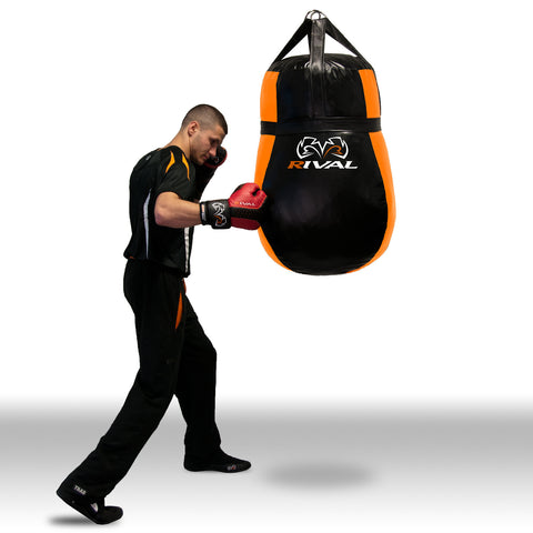 "Rival ""Universal"" Heavy Bag - Large - Black & Orange"
