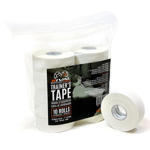 Rival Trainer's Tape : Pack of 10 Rolls