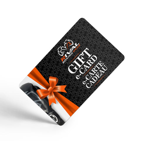 Rival Boxing Gear Gift e-Card