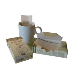 Small Paper Tea Filter Bags - 100ct