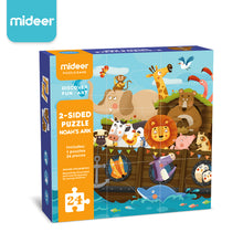 Load image into Gallery viewer, MiDeer 2-Sided Puzzle - Noah's Ark