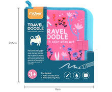 Load image into Gallery viewer, MiDeer Travel Doodle Book (Blue/Pink)