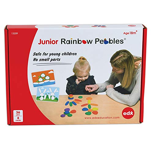 PRE-ORDER: Junior Rainbow Pebbles Activity Set