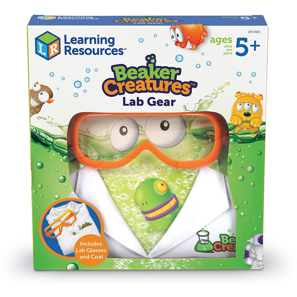 PRE-ORDER: Learning Resources Beaker Creatures Lab Gear, Lab Coat & Glasses